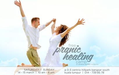 Free Pranic Healing Camp (14-15 Mar 2015)