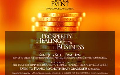 Prosperity Healing of Self & Business
