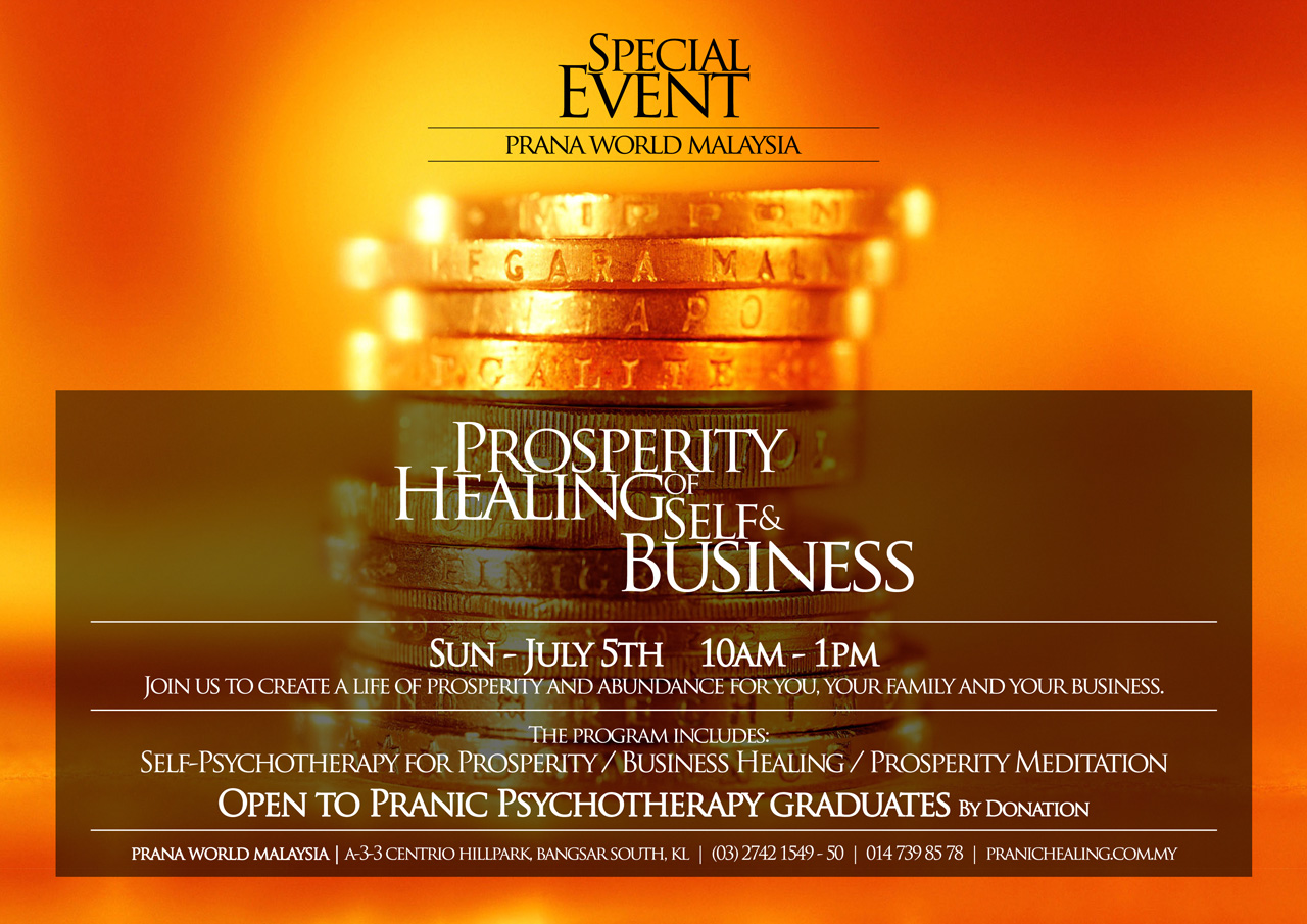 Prosperity Healing of Self & Business