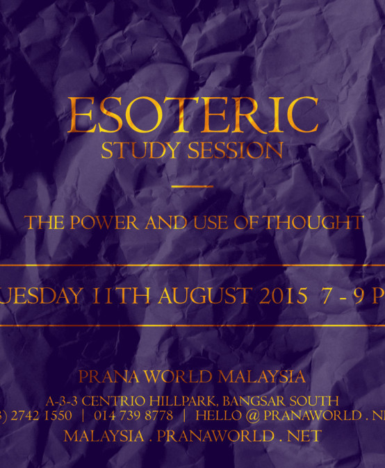 Esoteric Study Session
