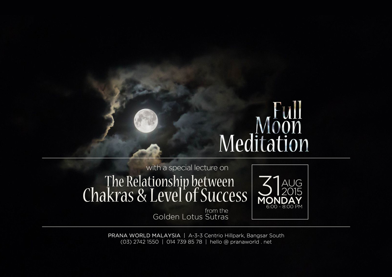 Full Moon Meditation (31 Aug 2015)