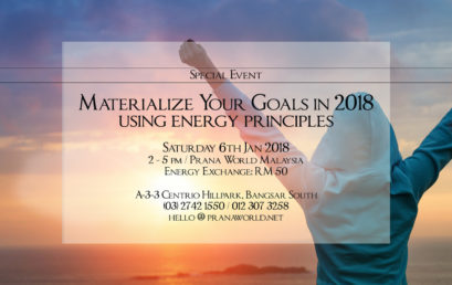Materialize Your Goals in 2018